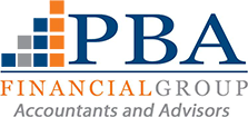 PBA Financial Group logo.